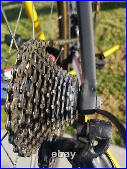 Colnago c60 size 58S cm Campagnolo Super Record 11 speed Zip 404 Wheels