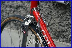 Colnago master campagnolo super record italy steel bike eroica vintage ambrosio
