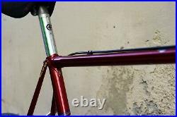 Colnago super profile chrome campagnolo super record italian steel eroica bike