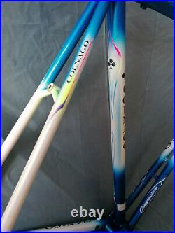 Colnago titanio bititan in mapei colors extremly rare for campagnolo record