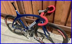 Corima Cougar Track Pista 56 Campagnolo Record Stronglight Zipp 404
