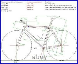 Daccordi Road Bike Campagnolo Super Record EPS 12 Speed WTO 45 Disc Wheels