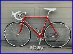 De Rosa 54cm SLX Campagnolo C-Record, Delta, Stunning Red, Excellent Original