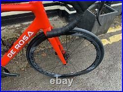 De Rosa Merak Disc Campagnolo Record 12 Speed Carbon Wheels