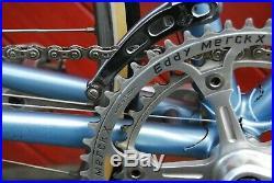 Eddy Merckx Professional 1980 Early De Rosa Bike Campagnolo Super Record Vintage