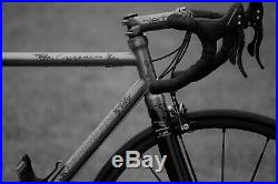 Engraved Merlin Cyrene Titanium Bike with Campagnolo Record Build, New Condition