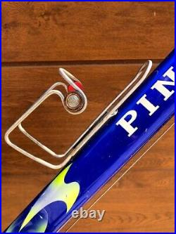 Ex Pro Team Pinarello Paris Campagnolo Record Titanium 9 speed Alpina Ambrosio