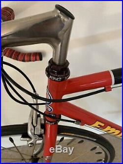 F Moser Leader AX Evolution Road Bike Campagnolo Record Topolino King 53cm
