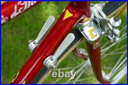 Fausto Coppi Giro d'Italia Classic Road Bike 57cm 1980's Nuovo Record Campagnolo