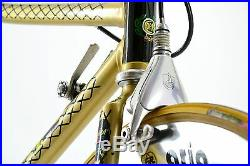 Fausto Coppi Time Trial Crono Road Bike Campagnolo C-Record Delta FIR 3ttt Gold