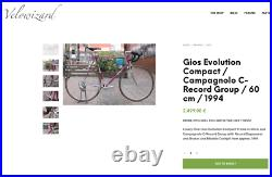 Gios Evolution Compact / Campagnolo C-Record Group / 60 cm / 1994