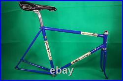 Gios Torino PISTA Super Record Track Bike Frame Vintage Campagnolo Record 56 55