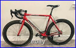 Look 585 Large with Campagnolo Record/Chorus 11 speed, Zipp Wheels