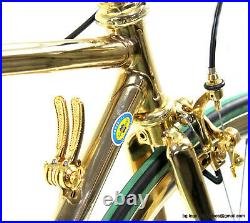 Luxury Columbus Crono 26-28 Campagnolo Super Record GOLD PLATED Vintage Bike