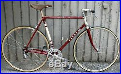 M. PELOSO CAMPAGNOLO NUOVO RECORD VINTAGE STEEL ROAD RACING BICYCLE 70s