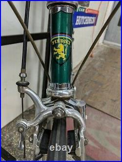 MEDICI Pro Strada Vintage Steel Road Bike Campagnolo Campy Super Record Green 54