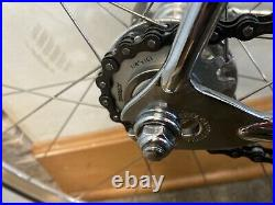 Mercian Vincitore Track Single Speed Campagnolo Nuovo Record Reynolds 631 Brooks