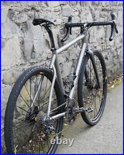 Moots Routt RSL 56cm, Campagnolo Super Record H11, Mavic Allroad (gravel bike)