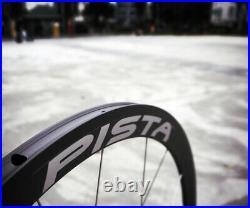 NIB Campagnolo Record Pista Wheel Set Track Bike Fixie Aero 38mm Classic Campy