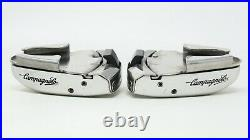 NOS CAMPAGNOLO SGR PEDALS VINTAGE 80s CLEATS CLIPLESS C-RECORD ROAD BIKE RACING