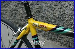 NOS bianchi mega pro XL EV2 pantani campagnolo record 10 italy vintage bike new