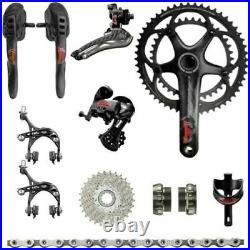 New Campagnolo Super Record Limited Edition 80th Anniversary Road Bike Groupset