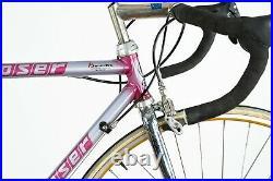 Nos Moser Pro Evolution Campagnolo Mirage Super Record Steel Road Bike Vintage