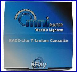 OMNI Racer WORLDS LIGHTEST Titanium 11 Cassette Fit Record, Super, Chorus 11-28