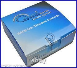 OMNI Racer WORLDs LIGHTEST Titanium 11 Cassette Fit Record, Super, Chorus 11-25