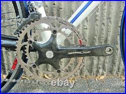 Obrea lobular Campagnolo Record Carbon/Titanium Vento Wheels 54cm