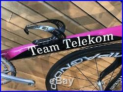 Original PINARELLO Team TELEKOM Prince LS Rennrad Campagnolo Record & BORA TOP