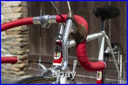 POGLIAGHI n. 8062 ROAD BIKE VINTAGE STEEL Campagnolo Record Masi Galmozzi Colnago