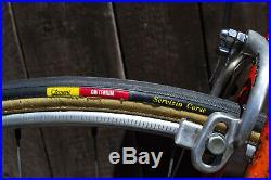 PRESERVED 50s CINELLI SUPER CORSA vintage road bike steel campagnolo record