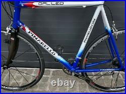 Pinarello Alu Carbon Rennrad RH 63cm Campagnolo Record Zonda 62 64 XXL Road Bike