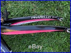 Pinarello F8 Special Giro Pink Campagnolo Super Record 54cm Fizik WithO Wheels