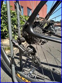 Pinarello Gan GRS 47cm (52.5cm TT) Campagnolo H11 Record EPS, Nox Carbon Wheels
