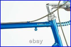 Pinarello Montello Vini Ricordi Campagnolo Super Record Steel Road Bike Vintage