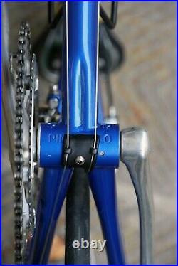 Pinarello radius campagnolo record 9 made italy pegoretti italian steel bike 3t