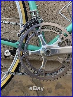 Pristine Bianchi Nuovo Alloro 12 speed road bike campagnolo super record columbu