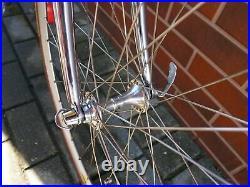 Racing bike SOMEC Promax 55cm Columbus MAX SILVA Campagnolo C-Record Mavic CXP30