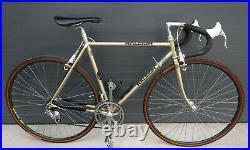Raleigh TI Team SBDU Gold 52cm Rennrad Campagnolo C Record Delta Reynolds 753
