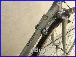 Rare 1965 Vito Ortelli vintage road bike, Campagnolo Record groupset