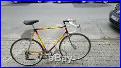 Rennrad Colnago Columbus Stahl Rahmen Gr 59 CM mit Campagnolo Record