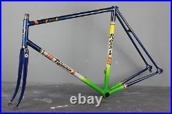 Rossin Record 58cm Frame Columbus SL Vintage Retro Road Bike Campagnolo Eroica
