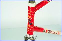 Rossin Super Record Columbus Sl Campagnolo Frame Vintage Racing Road Bike Old 80