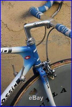 Rossin trofeo time trial chrono campagnolo c record italian steel bike vintage