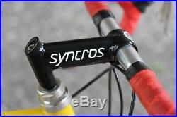 SEROTTA 26 Triathlon Campagnolo Chorus Record Shamal 650 / 54 cm / Syncros