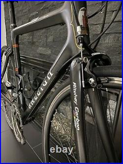 SUPER CLEAN! Raleigh Team Carbon Campagnolo Record Titanium 55cm WithCampy Wheels