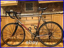 Serotta Legend Ti 59cm Titanium Road Bike Campagnolo Record Titanium Components