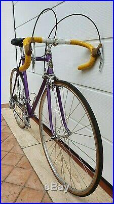 The master LICINIO MARASTONI MARCO vintage italian road bike CAMPAGNOLO RECORD